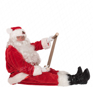 "Santa PNG Overlay ""surprised"""