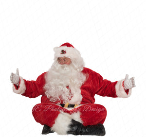 "Santa PNG Overlay ""Arms out with Santa"""