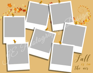 Fall Pictures on the wall - 2 size and 3 design variations