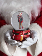 Load image into Gallery viewer, Santa Christmas Snowglobe - 2 variations
