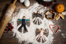 Load image into Gallery viewer, Christmas Cookie Snow Angels Berries And More -  (with 1,2,3 & 4  Snow angels)
