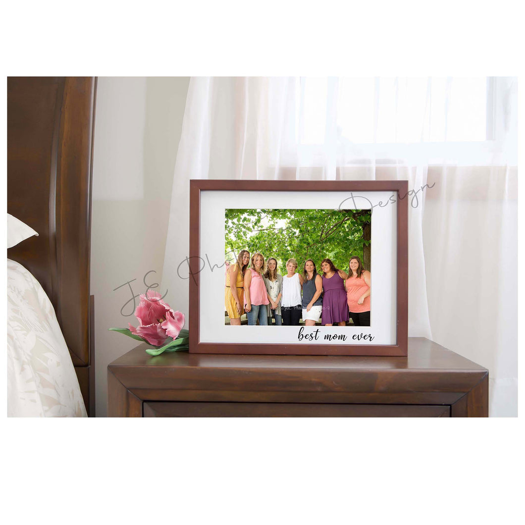 Mother's Day Photo Frame - digital backdrops