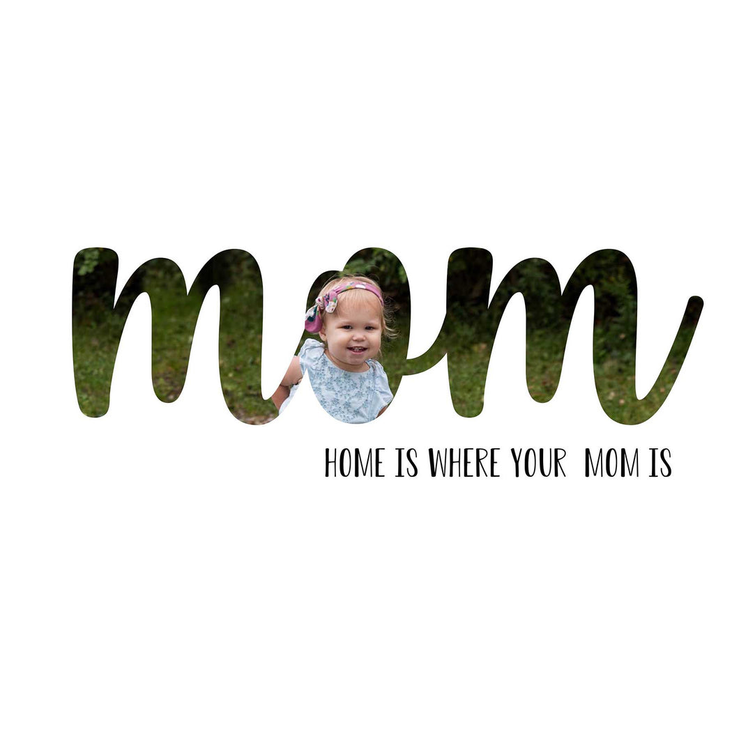 Mom Mother's Day word art template