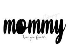 Load image into Gallery viewer, Mommy Mother's Day word art template
