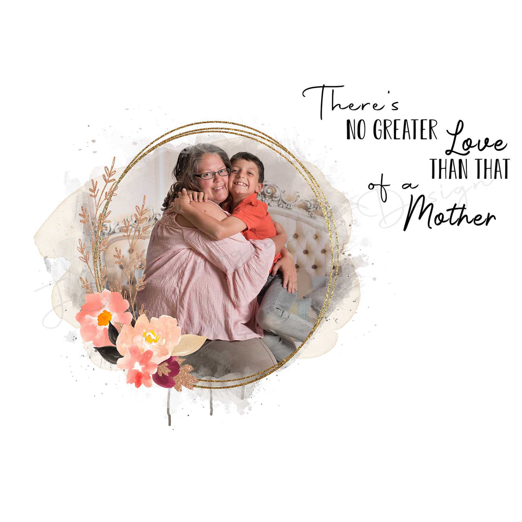Mother's Love - Boho peonies and roses templates