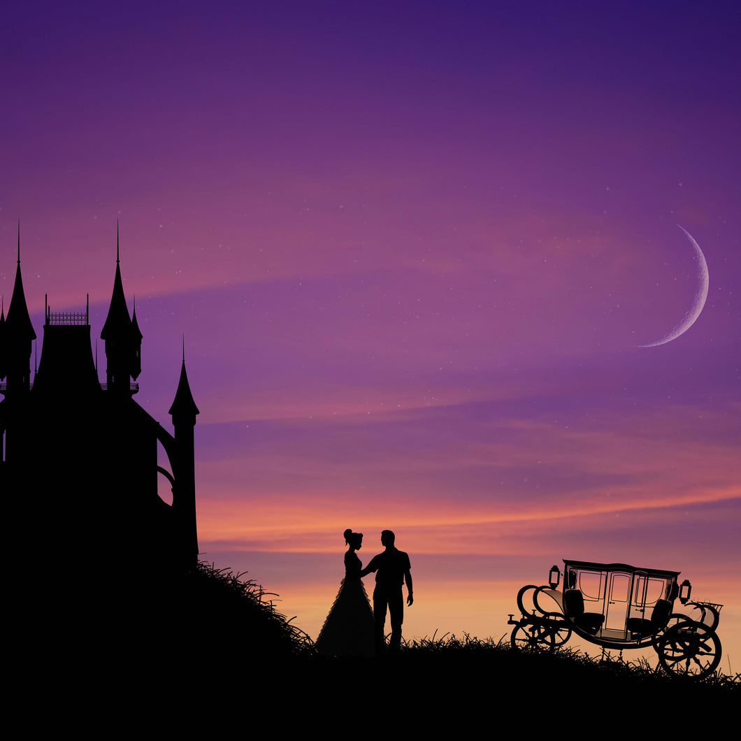 Princess Carriage Silhouette