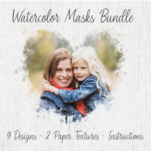 Watercolor Mask Bundle