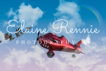 Load image into Gallery viewer, Red Airplane (Red Plane)