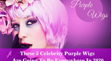 These 5 Celebrity Purple Wigs Are Going To Be Everywhere In 2020