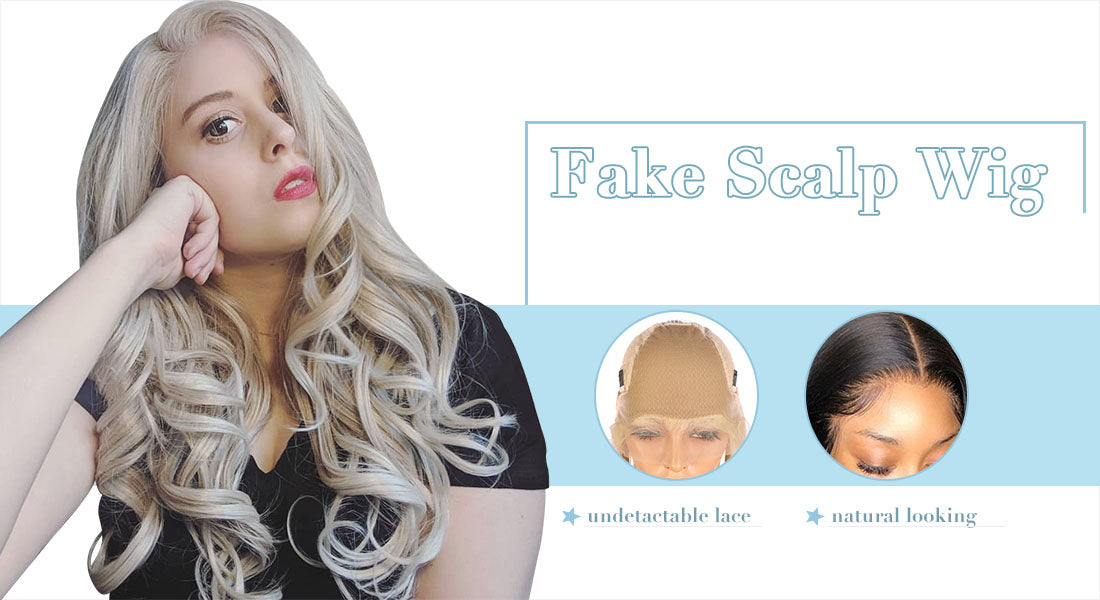 benefits of fake scalp wig