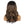 Load image into Gallery viewer, Layla | 18'' Temperament Fluffy Brown Highlight Long Body Wave Human Hair Wig