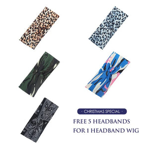 ONLY 22 INCHES HOT SALES | Affordable&Beginner Friendly College Girls Must Have Straight Headband Wig
