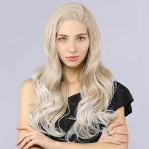Synthetic Lace Front Wavy Wig  - BIMBACHEXTREM