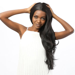 synthetic hair lace front wig- BIMBACHEXTREM