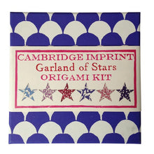 "Load image into Gallery viewer, Origami Kit ""Garland of Stars"" by Cambridge Imprint"