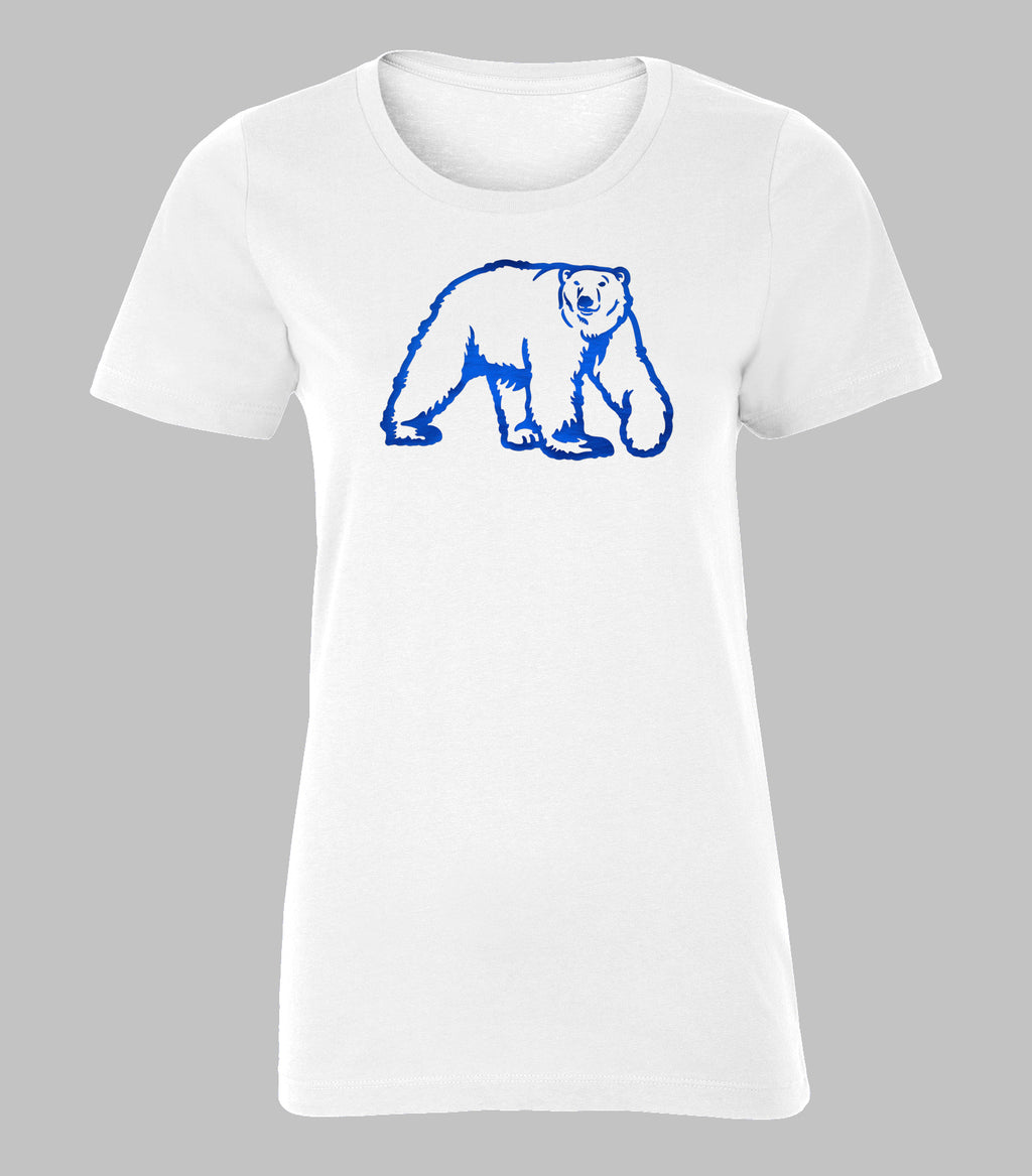 Metallic Ladies Polar Bear