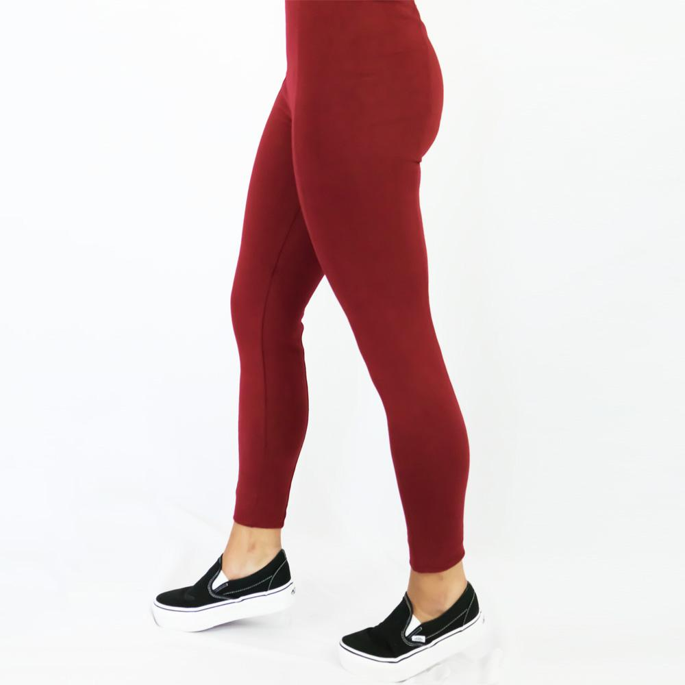 Leggings Basic Burdeo