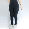 Leggings Basic Gris Oscuro