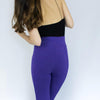 Leggings Basic Lila