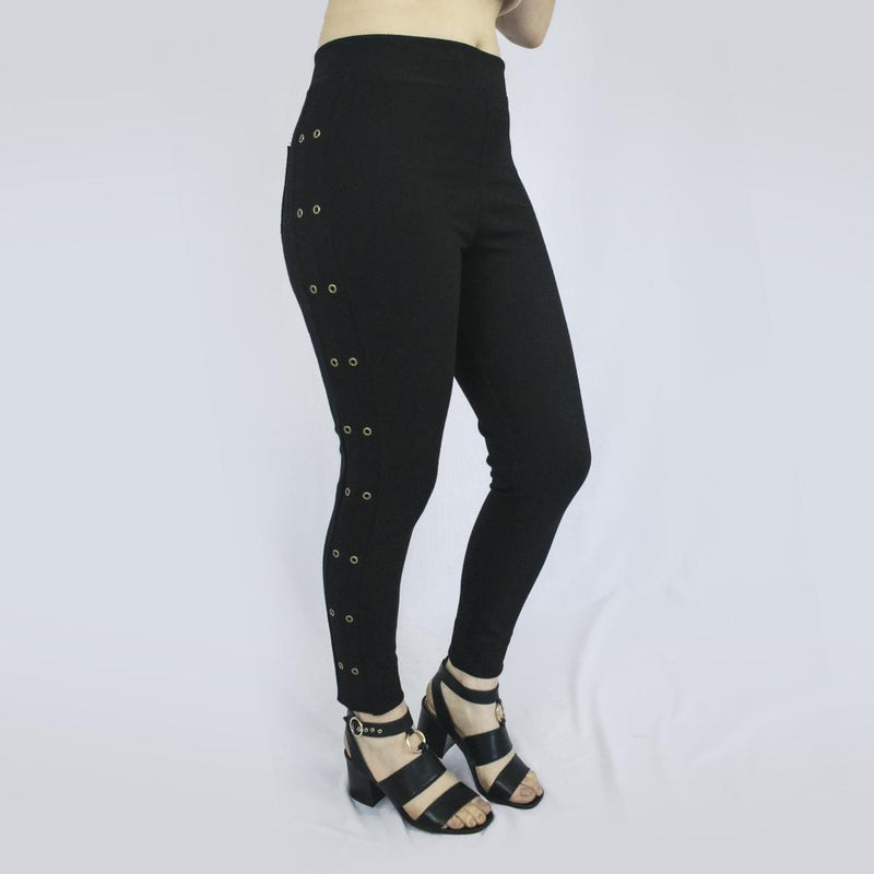 Leggings Holes Negra
