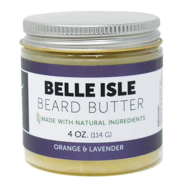Beard Butter Belle Isle All-Natural 4 oz. - The Roman