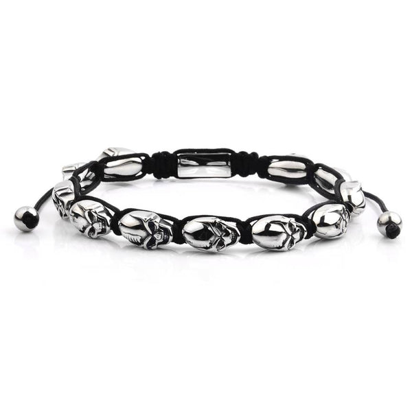Crucible Men's Skull Bead Bracelet - The Roman