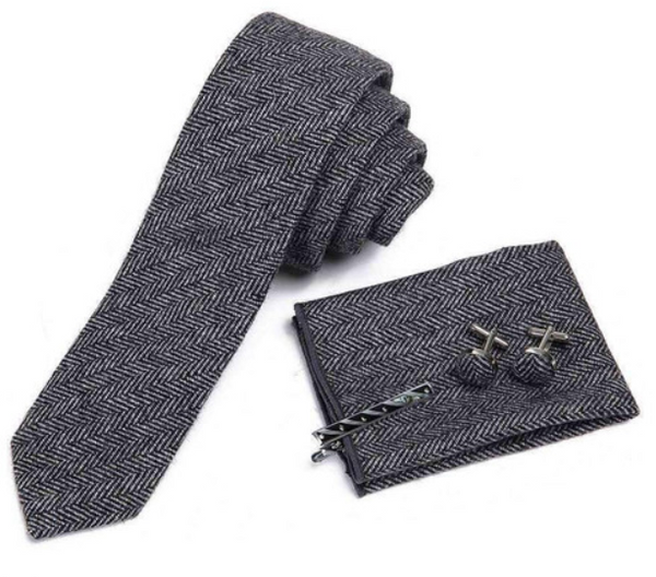 Men's Wool Tie Boxed Set - The Roman