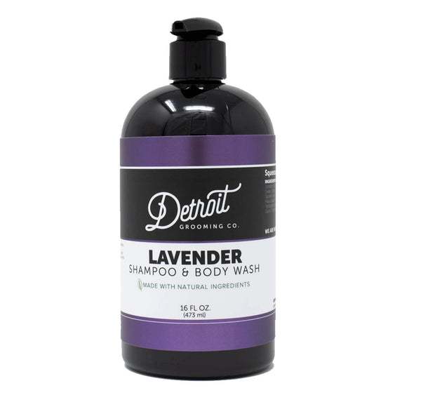Lavender Shampoo & Body Wash 16 oz - The Roman