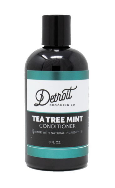Premium Men's Conditioner with Shea Butter 8 oz. - Tea Tree Mint - The Roman