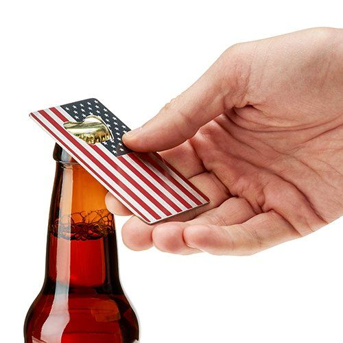 USA FLAG BOTTLE OPENER BY FOSTER & RYE - The Roman