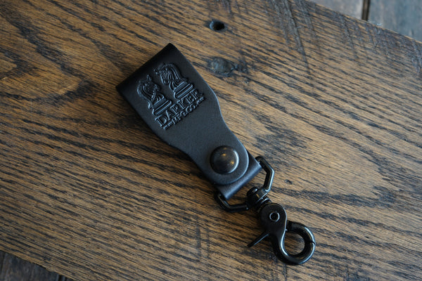 """VERSION ONE"" BELT SNAP KEYCHAIN: MIDNIGHT - The Roman"