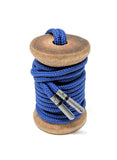 Solid Navy Dress Laces - The Roman