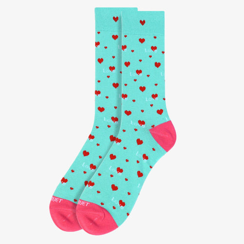 Hearts and Lovers Socks - The Roman