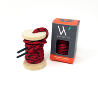 Red and Black Boot Laces - The Roman