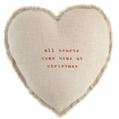 Heart Christmas Pillow - Fab Vila