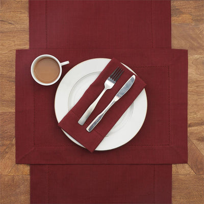 Hemstitch Napkins set - Fab Vila