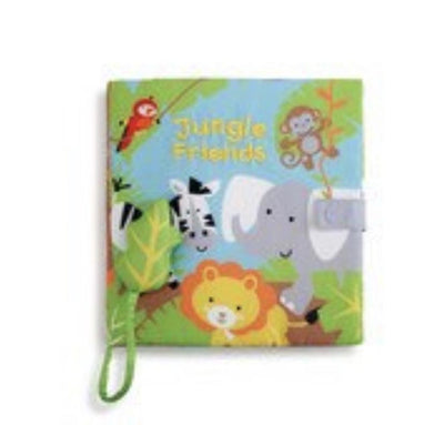 Jungle Friends Book with Sound - Fab Vila