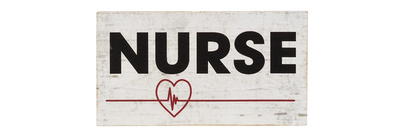 Nurse Stacking Block Signs - Fab Vila