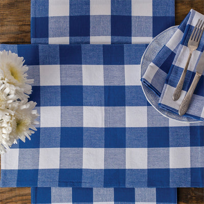 Plaid Napkin Set/4 - Fab Vila