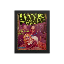 "Load image into Gallery viewer, Framed ""Cry Baby"" Film Threat Cover Poster"