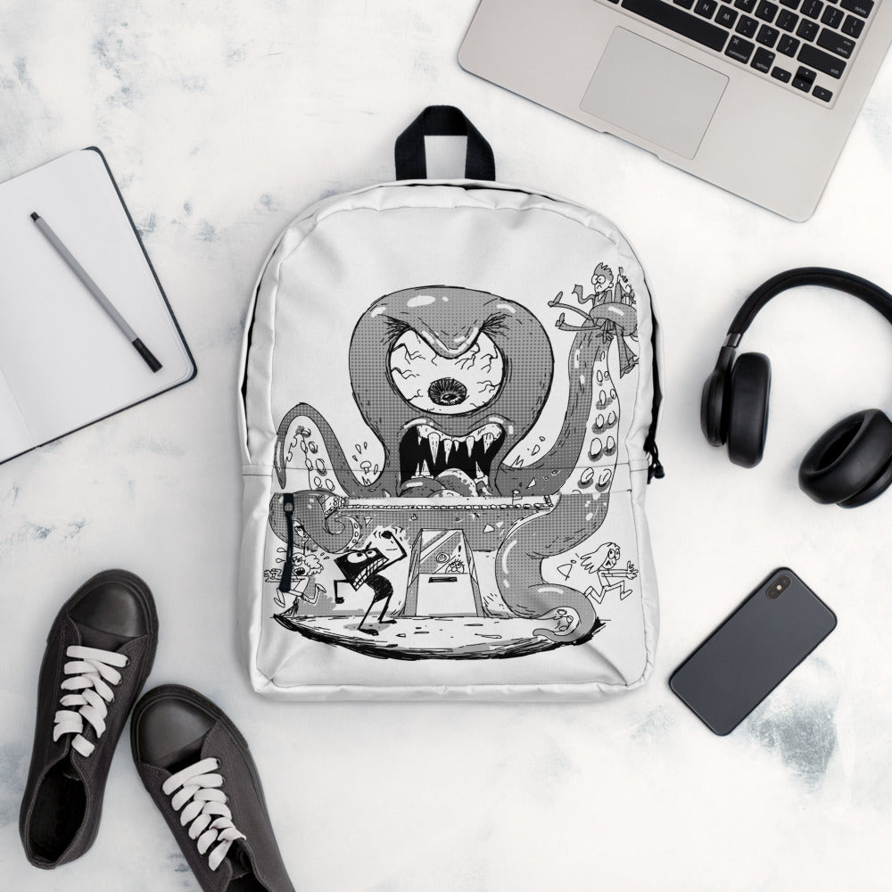 Slateboy Octopus Monster Backpack