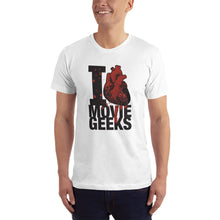 Load image into Gallery viewer, Men's I Love Movie Geeks T-Shirt