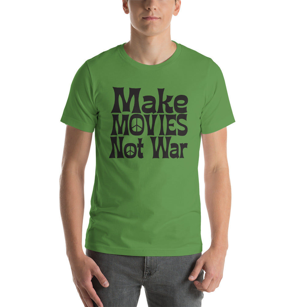 Make Movies Not War Tee - Film Threat