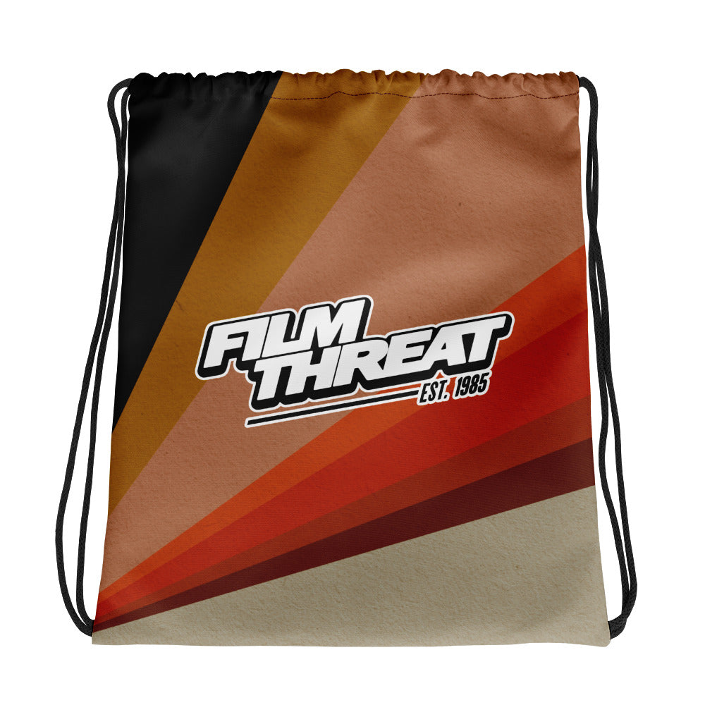 Film Threat Palette Drawstring bag