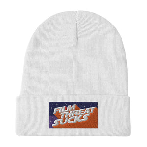 Embroidered Film Threat Sucks Beanie - Film Threat