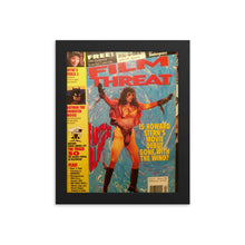 "Load image into Gallery viewer, Framed ""Howard Stern"" Film Threat Cover Poster"