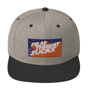 Film Threat Sucks Snapback Hat