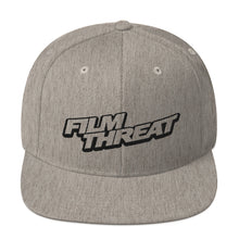Load image into Gallery viewer, Film Threat Snapback Hat
