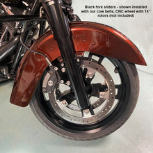 Load image into Gallery viewer, Harley Fork Slider Kit - for 49mm conversion