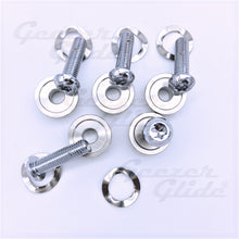 Load image into Gallery viewer, Harley Chrome Rotor Bolt Kit (5 pcs.)